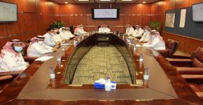 انعقاد الاجتماع الدوري  بين فريقي التمكين بجامعة الملك سعود والبرنامج الوطني لدعم إدارة المشروعات والتشغيل والصيانة