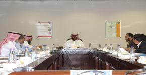 الاجتماع الدوري لمشرفي وحدات عمادة تطوير المهارات بكليات الجامعة