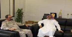 قائد معهد الدفاع الجوي يشيد بمعهد الأمير سلطان لأبحاث التقنيات المتقدمة