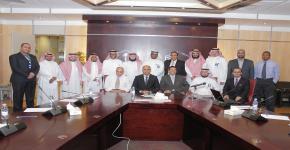 كبير المراجعين الخارجيين للجهة المانحة يوصي بمنح عمادة السنة التحضيرية بجامعة الملك سعود شهادة الأيزو لنظام إدارة الجودة  طبقًا للمواصفة ISO 9001:2008