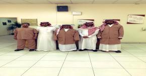 زيارة وفد من عمادة شؤون المكتبات الى مركز الملك سلمان بن عبد العزيز للترميم
