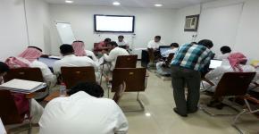 برنامج التعليم العالي للطلاب الصم بالجامعة يقيم دوره لطلابه في الـ SPSS