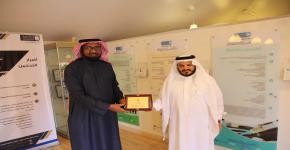 توجيه وإرشاد جامعة الملك سعود يستضيف وفد الجامعة الإسلامية بالمدينة المنورة