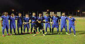 بحضور عميد شؤون الطلاب  منتخب القدم يكسب جامعة الإمام بسداسية ..