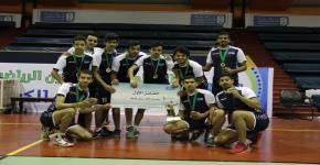 نادي علوم الرياضة والنشاط البدني يحقق بطولة الجامعة لكرة الطائرة