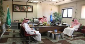 كلية علوم الرياضة تستقبل رئيس مجلس إدارة الاتحاد السعودي للتجديف