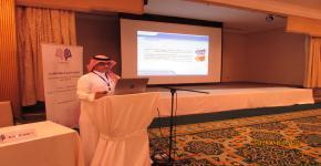 عرض تجربة جامعة الملك سعود الرائدة في رعاية الطلبة المتفوقين والموهوبين بالمؤتمر الدولي الموهبة والإبداع 2017