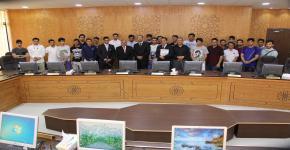 انطلاق البرنامج الإثرائي الصيفي بجامعة اليرموك الأردنية للطلبة المتفوقين بجامعة الملك سعود