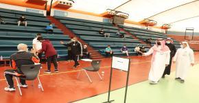 إجراء اختبار القدرات البدنية للقبول بكلية علوم الرياضة والنشاط البدني