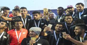 منتخب جامعة الملك سعود لكرة القدم بطل جامعات المملكة
