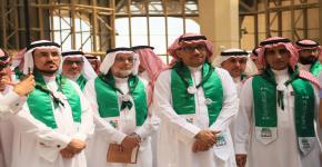 جامعة الملك سعود تحتفل بذكرى اليوم الوطني 89 للمملكة