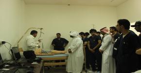 طلاب كلية التمريض في ضيافة جامعة الملك خالد بأبها
