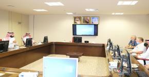 عمادة كلية علوم الرياضة تستقبل وفداً رفيع المستوى من شركة BWS_KSA للترفيه