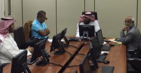 مركز التميز في التعلم و التعليم يستقبل وفداً من جامعة الدمام