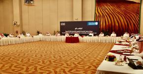 وكيل الجامعة للشؤون التعليمية والأكاديمية يعقد اجتماعا مع عمداء الكليات والعمادات المساندة