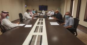 اجتماع مجلس  قسم التربية البدنية الأول للسنة الدراسية 1442