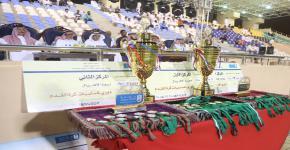 ختام الانشطة الرياضية وتتويج أبطال كأس  معالي مدير الجامعة