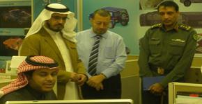 King Abdullah Institute for Research and Consulting Studies Visits AMI