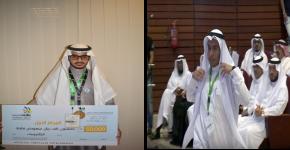 بعد فوزهما بالميداليتين الذهبيتين بالمسابقة الوطنية الثانية للمهارات موهبا الجامعة  يستعدان للمشاركة بمسابقة المهارات العالمية بأبو ظبي
