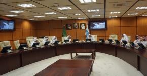 عمادة الدراسات العليا بجامعة الطائف تزور عمادة الدراسات العليا بجامعة الملك سعود