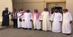 وفد طلاب جامعة الملك خالد في ضيافة إسكان الطلاب