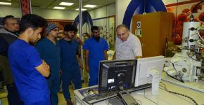 معهد الملك عبدالله لتقنية النانو يستقبل طلاب العلوم الطبية التطبيقية بجامعة الملك خالد