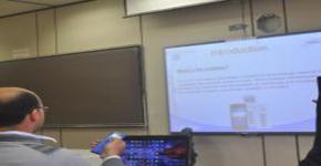 """عقد دورة تدريبية لأجهزة الإستجابة الشخصية """"كليكيزر"""" في مركز التميز في التعلم والتعليم"""