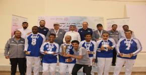 منتخب الجامعة لذوي الاحتياجات الخاصة يحقق المركز الثاني في بطولة الاتحاد الرياضي للجامعات السعودية في موسمها العاشر