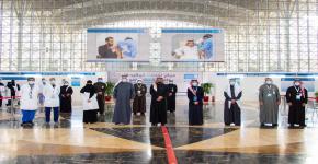 تدشين مراكز لقاحات كوفيد 19 بجامعة الملك سعود