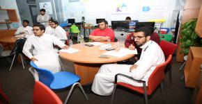 دورة تدريبية في مهارات البحث العلمي لطلبة التحضيرية