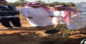 مشاركة جامعة الملك سعود في حملة تشجير مدينة الرياض