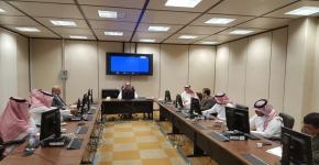 كلية اللغات والترجمة تستقبل وفد عمادة التطوير والجودة بالجامعة