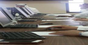 لجنة الخطط والبرامج الدراسية تعقد اجتماعها الحاي عشر للعام 1437-1438هـ