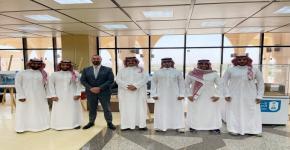قسم الإدارة السياحة والفندقية يستقبل المدير العام لمجموعة فنادق إنتركونتينتال