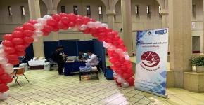 """النادي الثقافي الاجتماعي يُنظم حملة التبرع بالدم بعنوان """"تبرعك حياة لغيرك"""""""