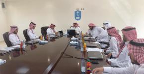 كلية المجتمع تعقد المجلس  الاستشاري الطلابي