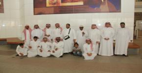 مركز ذوي الاحتياجات الخاصة يزور مكتبة الملك فهد الوطنية