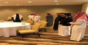 النادي الثقافي والاجتماعي في كلية السياحة والآثار  ينظم زيارة إلى فندق
