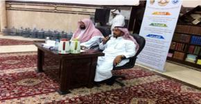 كرسي السيرة النبوية يشارك في لقاء مفتوح مع  طلاب الحلقات في مسجد الإسكان