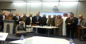 في محاضرته عن الرحلة العربية وإنتاج المعرفة الدكتور شعيب حليفي يحاضر في وحدة أبحاث السرديات بجامعة الملك سعود