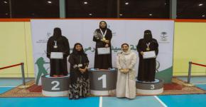 الطالبة الموهوبة ابتهال الأسمري تحصد المركز الثاني في بطولة المملكة الأولى للسيدات