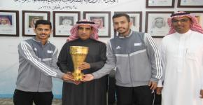 منتخب الجامعة لكرة المضرب أبطال على مستوى الجامعات السعودية