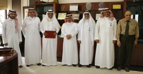 وكالة الجامعة للدراسات العليا والبحث العلمي تحصل على  شهادة الآيزو (ISO 9001:2008)