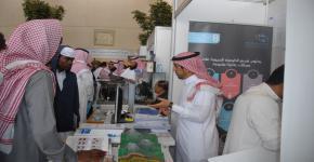 """كلية العلوم تشارك في معرض """"جامعتي بوابة مستقبلي"""" في مدارس المملكة."""