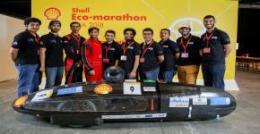 فريق جامعة الملك سعود (سعف) يحقق المركز الأول على فرق الشرق الأوسط وشمال افريقيا في ماراثون شل البيئي-آسيا-2018 للسيارات الصديقة للبيئة