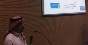 وكيل معهد الملك عبدالله لتقنية النانو للشؤون الفنية يلقي عرض بجامعة قطر