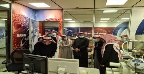 معهد الملك عبدالله لتقنية النانو يستقبل وفد من الشركة السعودية للصناعات الميكانيكية SMI