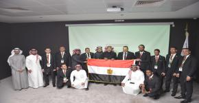عمادة شؤون الطلاب تستقبل الوفد الشبابي من جمهورية مصر العربية