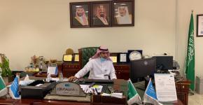 اللقاء التعريفي الأول للعام الجامعي 1442هـ للطلبة المستجدين في كلية المجتمع بجامعة الملك سعود