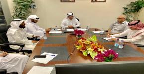 إدارة برنامج الطلبة المتفوقين والموهوبين تعقد اجتماعها الأول وتسقبل وفد إدارة الموهوبين بتعليم الرياض